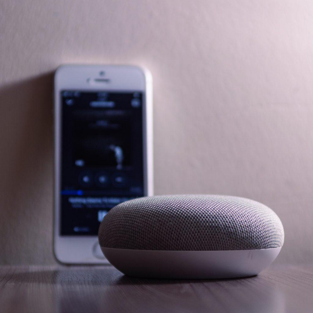 Recherche vocale avec un Google Home