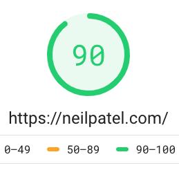 Exemple d'algorithme de temps de chargement de google
