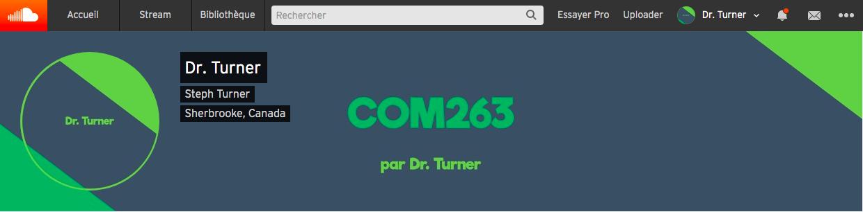 La nouvelle musique emblématique du cours Com263