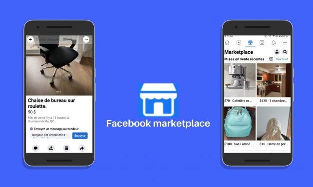 Comment vendre rapidement sur Facebook Marketplace
